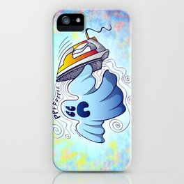 Ghost Ironing Nightmare iPhone Case