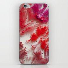 Lipstick on Glass iPhone Skin
