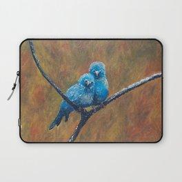 Canary Love Birds Laptop Sleeve