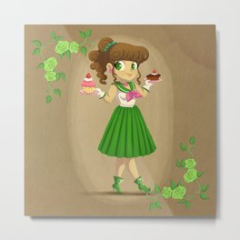 Retro Sailor Jupiter Metal Print