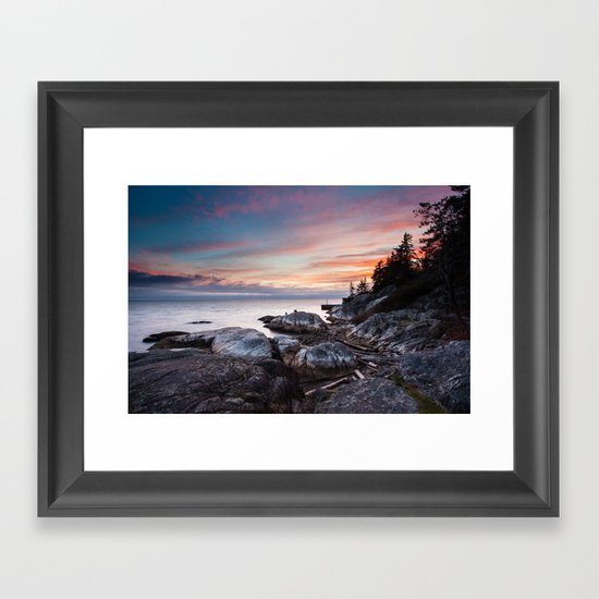 Be Calm Framed Art Print