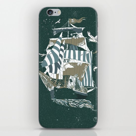 Sail to The Moon iPhone & iPod Skin