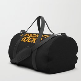 Virginity Rocks Duffle Bag