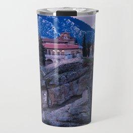 Meteora Sunrise Travel Mug