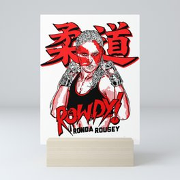 RONDA ROUSEY Mini Art Print