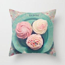 Be Sweet Throw Pillow