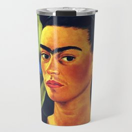 Frida Kahlo Birds Travel Mug