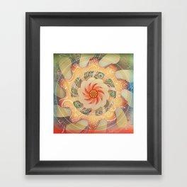 Manipura Framed Art Print