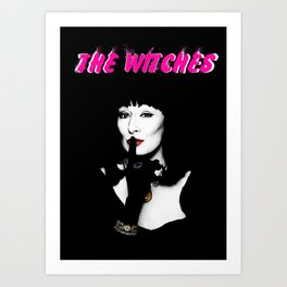Grand High Witch Art Print