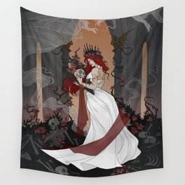 Queen of the Underworld Wall Tapestry