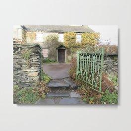 Beatrix Potter's Garden Metal Print
