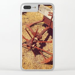 Once Upon A Time - Cartwheel Clear iPhone Case