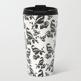 Chickadee Pattern Travel Mug