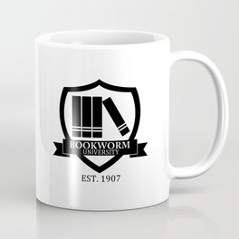 Bookworm University Coffee Mug