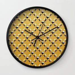 Mod Gold Wall Clock