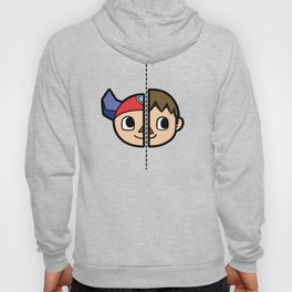 Old & New Animal Crossing Villager Comparison Hoody