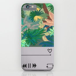 Jungle Garden Music album  iPhone Case