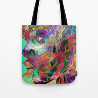 balance Tote Bags featuring Balance by Archan Nair