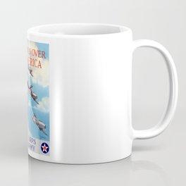 Wings Over America -- Air Corps WW2 Coffee Mug