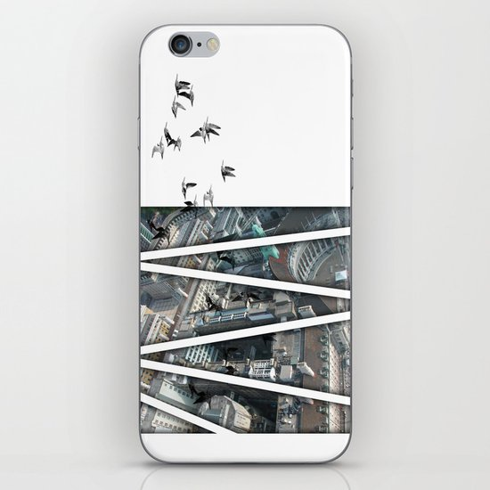 defection iPhone & iPod Skin