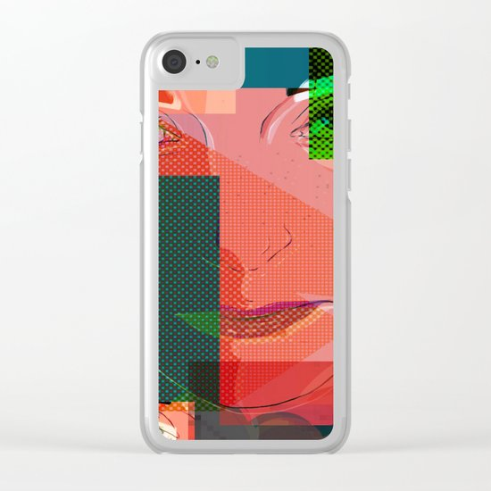 Eyes Pop art Clear iPhone Case