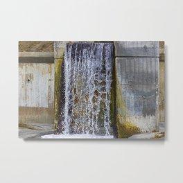 Frozen Water Metal Print