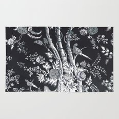 Peacock Tree Denim Rug