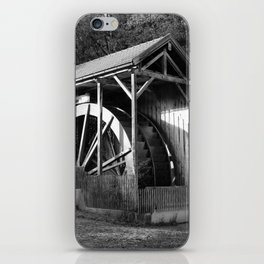 The largest water wheel, Gießenbach iPhone Skin