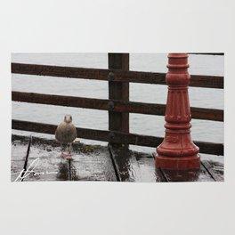 Beach Bird Rug