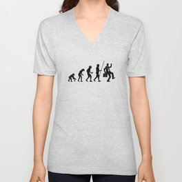 Work Evolution Unisex V-Neck