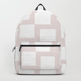 Geometric Neutrals 01 - Abstract Shapes Japanese Paper Backpack