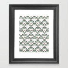 Scallops Framed Art Print