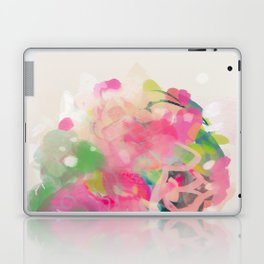 floral abstract bouquet Laptop & iPad Skin