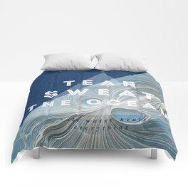 Salt water heals Comforters