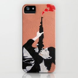 I LOVE YOUR GUN iPhone Case