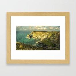 Godrevy Seascape  Framed Art Print