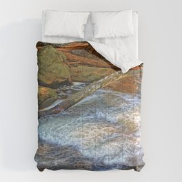 Rock, Wood, Waters Comforters