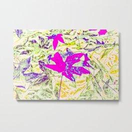 pink maple Metal Print