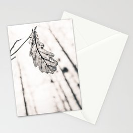 Lonesome leaf Stationery Cards