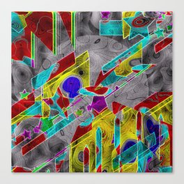 shaping-Up Canvas Print