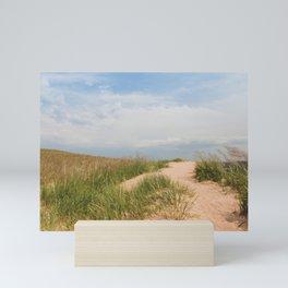 To the Beach Mini Art Print