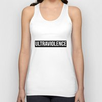 ultraviolence Tank Tops featuring ultraviolence by Sofi G.
