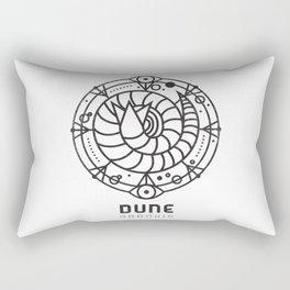 SANDWORM: ARRAKIS BADGE Rectangular Pillow