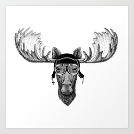 Los Speed Rebel Art Print