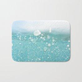 Undersea bubbles Bath Mat