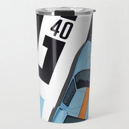 GT40 Le Mans 1968 Rodriguez-Bianchi Travel Mug