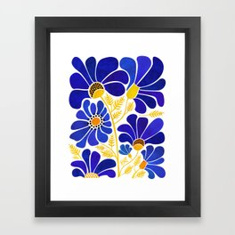 The Happiest Flowers Framed Art Print
