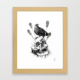 Last Stand Framed Art Print
