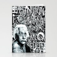 einstein Stationery Cards featuring Einstein.  by Will Santino