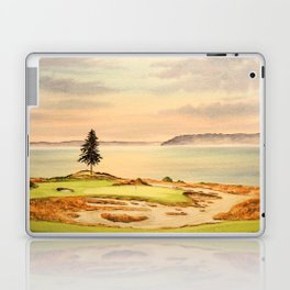 Chambers Bay Golf Course 15th Hole Laptop & iPad Skin